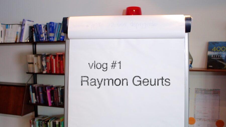 Vlog: Raymon schrijft een boek
